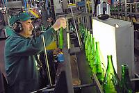 - glass industry, production of glass bottles; visual quality control; CoReVe, Consortium for Glass Recover....- industria vetraria, produzione di contenitori in vetro; controllo visivo della qualità; CoReVe, Consorzio Recupero Vetro