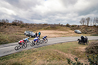 in the dunes<br /> <br /> 44th AG Driedaagse Brugge-De Panne 2020 (1.UWT / BEL)<br /> 1 day race from Brugge to De Panne (203km shortened to 188km due to the windy weather conditions) <br /> <br /> ©kramon