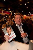 Rodger Brulotte<br /> at montreal book fair, November 2015,<br /> <br /> <br /> PHOTO : Michel Karpoff<br /> <br />  - Agence Quebec Presse