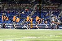 SAN ANTONIO, TX - NOVEMBER 28, 2020: The University of Texas at San Antonio Roadrunners defeat the University of North Texas Mean Green 49-17 at the Alamodome (Photo by Jeff Huehn).