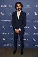 Dev Patel<br /> arriving for the LUMINOUS Gala 2019 at the Roundhouse Camden, London<br /> <br /> ©Ash Knotek  D3522 01/10/2019