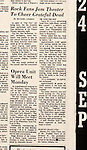 Republican-American article from 24 September 1972 when the Greatful Dead played at the Palace Theatre.