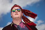 © Joel Goodman - 07973 332324 . 07/06/2015 . Manchester , UK . ADAM DAWSON (18 from Oldham) at The Parklife 2015 music festival in Heaton Park , Manchester . Photo credit : Joel Goodman