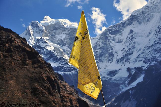 Prayer Flag, Tenboche, Nepal