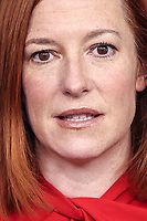 White House Press Secretary Jen Psaki speaks during a press briefing in the Brady Press Briefing Room of the White House on Wednesday, February 17, 2021, in Washington, DC. <br /> CAP/MPI/RS<br /> ©RS/MPI/Capital Pictures