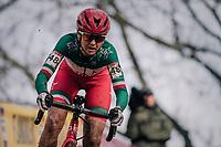 Italian Champion Eva Lechner (ITA/Star-Casino)<br /> <br /> Women's Race<br /> UCI Cyclocross World Cup Namur 2020 (BEL)<br /> <br /> ©kramon