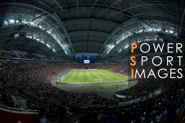 A view of Singapore National Stadium during the International Champions Cup match between Chelsea FC and FC Bayern Munich on July 25, 2017 in Singapore. Photo by Marcio Rodrigo Machado / Power Sport Images
