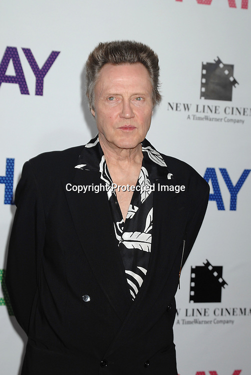 """Christopher Walken..arriving at the New York Premiere of """"Hairspray"""" on         July 16, 2007 at The Ziegfeld Theatre. ..Robin Platzer, Twin Images......212-935-0770"""