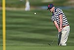Justin Timberlake plays in an American Century Championship practice round at Edgewood Tahoe Golf Course in Stateline, Nev., on Wednesday, July 15, 2015. <br /> Photo by Cathleen Allison