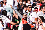 Palestine soccer fans show their supports for their team during the AFC Asian Cup UAE 2019 Group B match between Palestine (PLE) and Australia (AUS) at Rashid Stadium on 11 January 2019 in Dubai, United Arab Emirates. Photo by Marcio Rodrigo Machado / Power Sport Images