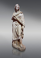 Roman statue of Sabina .Marble. Perge. 2nd century AD. Inv no 3066-3086. Antalya Archaeology Museum; Turkey.