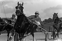Pix:Michael Steele/SWpix...Harnes Racing, Kendal, 1985...COPYRIGHT PICTURE>>SIMON WILKINSON..Harness Racing, Kendal.