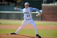 Matt Harvey (Pitcher) North Carolina Tar Heels (Photo by Tony Farlow/Four Seam Images)