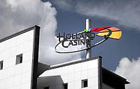 Nederland  Amsterdam - 2020.  Holland Casino bij het Leidseplein.   Foto  ANP / Hollandse Hoogte / Berlinda van Dam