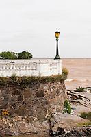 Uruguay, Colonia del Sacramento, Waterfront and Rio de la Plata