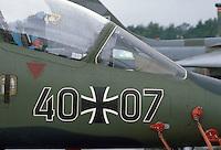 - German Air Force, Alphajet trainer aircraft....- aviazione tedesca, aereo da addestramento Alphajet