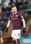 Hearts v St Johnstone…03.02.18…  Tynecastle…  SPFL<br />David Milinkovic<br />Picture by Graeme Hart. <br />Copyright Perthshire Picture Agency<br />Tel: 01738 623350  Mobile: 07990 594431