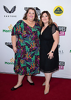 Ruth and Andrea Corden<br /> arriving for the Young Lives vs Cancer A Very British Affair Gala at Claridges, London<br /> <br /> ©Ash Knotek  D3573  10/09/2021