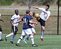 The UNC Greensboro Spartans played the University of South Carolina Gamecocks in The Manchester Cup on April 5, 2014.  The teams played to a 0-0 tie.  Jeffrey Torda (9), Noah DeAngelo (24)