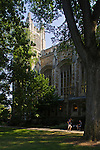 The Michigan Law School's quadrangle (625 South State Street) is anchored by its gothic-styled, Ivy League calibre library, Friday, Sept. 2, 2011 in Ann Arbor, Mich. (Tony Ding for The New York Times)