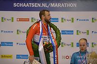 SCHAATSEN: ENSCHEDE:01-01-2020, IJsbaan Twente, NK Marathonschaatsen, ©foto Martin de Jong