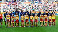 Fifa Women's World Cup Germany 2011 : Zweden - France Frankrijk at Sinsheim World Cup stadium : ploeg France.foto DAVID CATRY / Vrouwenteam.be