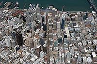 aerial photograph Market Street San Francisco, California