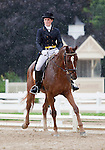 10 July 2009: Jaclyn Burke riding Chance of Flurries during the dressage phase of the CIC 2* Maui Jim Horse Trials at Lamplight Equestrian Center in Wayne, Illinois.