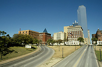 Dallas (TX) USA - 1986 File Photo - Daley Plaze, where US President John F Kenny was shot and killed on November 22, 1963.