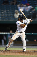 South Bend Silver Hawks outfielder Chuck Taylor (11) at bat during a game against the Dayton Dragons on August 20, 2014 at Four Winds Field in South Bend, Indiana.  Dayton defeated South Bend 5-3.  (Mike Janes/Four Seam Images)