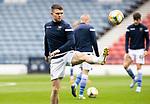 St Mirren v St Johnstone…09.05.21  Scottish Cup Semi-Final Hampden Park <br />Glenn Middleton warms up<br />Picture by Graeme Hart.<br />Copyright Perthshire Picture Agency<br />Tel: 01738 623350  Mobile: 07990 594431