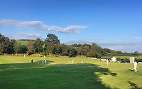 BNPS.co.uk (01202 558833)<br /> Pic: BNPS<br /> <br /> One of the most picturesque cricket grounds in England has been saved from developers after a village club raised £50,000 to buy it.<br /> <br /> Broadwindsor Cricket Club had leased the idyllic Middleton-Hands Ground in Dorset for a peppercorn rent from a local family since 1965.<br /> <br /> But they were hit for six last year when descendants of the late cricket-loving landowners gave them notice to vacate the venue and remove the pavilion.