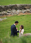 A romantic and bucolic Blue Hill Wedding Proposal.