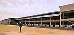A tea factory in the heart of tea farms in western Uganda