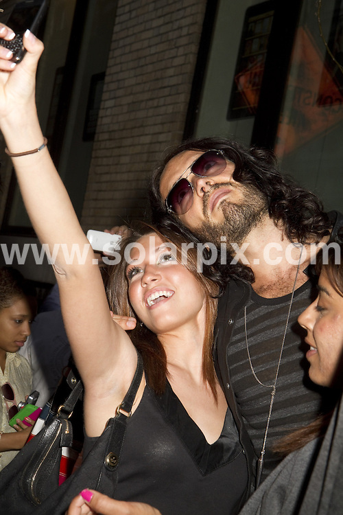 **ALL ROUND PICTURES FROM SOLARPIX.COM**.**SYNDICATION RIGHTS FOR UK, AUSTRALIA, DENMARK, PORTUGAL, S. AFRICA, SPAIN & DUBAI (U.A.E) & ASIA (EXCLUDING JAPAN) ONLY**.Apple Store Hosts Meet the Actors: Russell Brand, Get Him to the Greek, Soho Apple Store, NY, USA, 02 June 2010.This pic: Russell Brand.JOB REF: 11385    PHZ mayer    DATE: 02_06_2010.**MUST CREDIT SOLARPIX.COM OR DOUBLE FEE WILL BE CHARGED**.**MUST NOTIFY SOLARPIX OF ONLINE USAGE**.**CALL US ON: +34 952 811 768 or LOW RATE FROM UK 0844 617 7637**