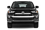 Car photography straight front view of a 2015 Toyota 4Runner Limited 5 Door SUV