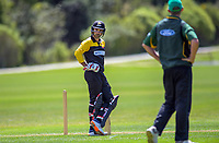 Action from the provincial cricket match between the Wellington A and Central Districts A at Karori Park in Wellington, New Zealand on Monday, 6 January 2020. Photo: Dave Lintott / lintottphoto.co.nz