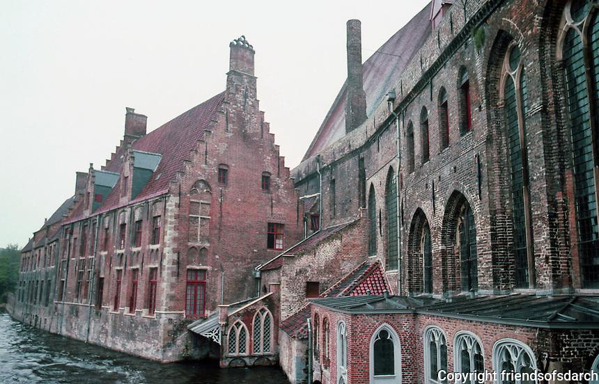Bruges: St. John's Hospital, 12th & 13th C.  Photo '87.