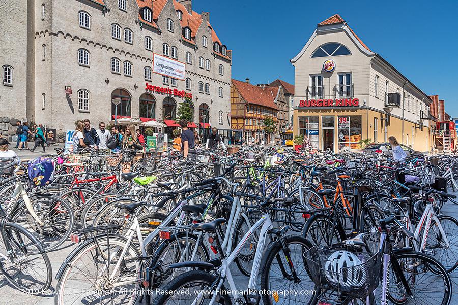 Bikers somehow find their bikes
