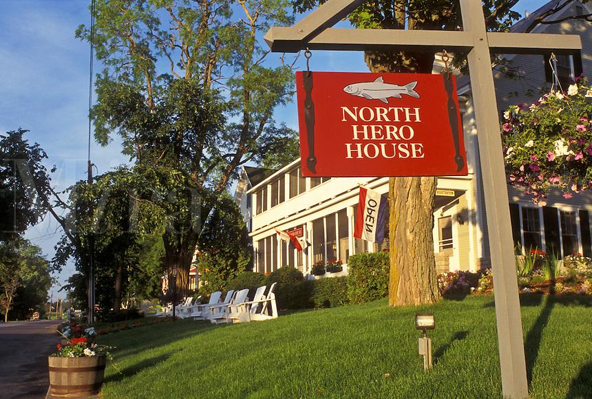 Country Inn, Vermont, VT, North Hero, North Hero House