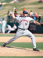 Kyle Godfrey -  Lancaster JetHawks playing against the Lake Elsinore Storm at the Diamond, Lake Elsinore, CA - 05/16/2010.Photo by:  Bill Mitchell/Four Seam Images