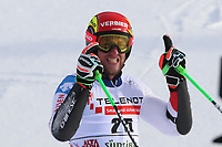 20th December 2020; Alta Badia, South-Tyrol, Italy; International Ski Federation World Cup Alpine Skiing, Giant Slalom;  Justin Murisier (SUI)