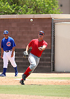 Nick Farnsworth / AZL Angels..Photo by:  Bill Mitchell/Four Seam Images