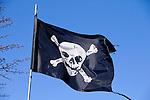 Pirate-Flag, Vaduz, Liechtenstein
