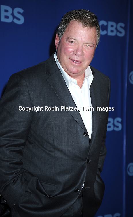 """William Shatner, star of """" $#*! My Dad Says""""  arriving at The CBS UPfront presentation of their 2010-2011 Season on May 19, 2010 at Lincoln Center."""