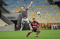 Rio de Janeiro (RJ), 12/07/2020 -Fluminense-Flamengo - Igideo jogador do Fluminense,durante partida contra o Flamengo,válida pela final do Campeonato Carioca,realizada no Estádio Jornalista Mário Filho (Maracanã), na zona norte do Rio de Janeiro,neste domingo (12).