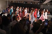 Catwalk<br /> at the Bora Aksu SS18 Show as part of London Fashion Week, London<br /> <br /> <br /> ©Ash Knotek  D3308  15/09/2017