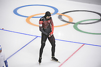 OLYMPIC GAMES: PYEONGCHANG: 19-02-2018, Gangneung Oval, Long Track, 500m Men, Alex Boisvert-Lacroix (CAN), ©photo Martin de Jong