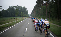 It takes more than an hour before a group of riders can escape the fast paced peloton which covers over 49km's in that hour...<br /> <br /> Heistse Pijl 2016