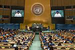 LOS general debate – 27 September<br /> <br /> AM<br /> <br /> His Excellency Julius Maada Bio, President, Republic of Sierra Leone